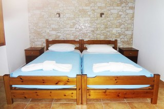accommodation panorama studios twin beds